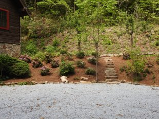 Landscaping and stone steps by Gonzalez Landscaping and Home Improvement
