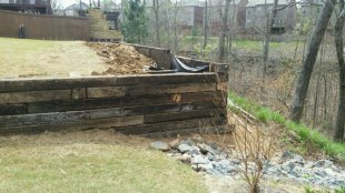 Retaining wall by Gonzalez Landscaping and Home Improvement